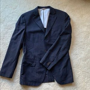 Men's Banana Republic Pinstripe Blazer - 40R